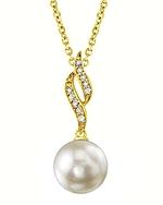 Akoya Pearl & Diamond Suzanna Pendant