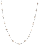 14K Gold Freshwater Pearl Gold Tincup Alessia Necklace