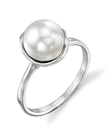 White South Sea Pearl Juliette Ring