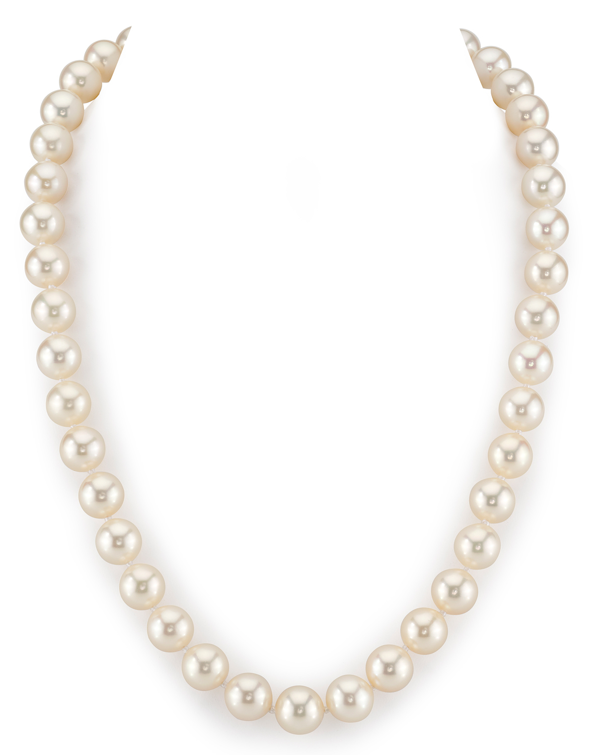 10-11mm White Freshwater Pearl Necklace