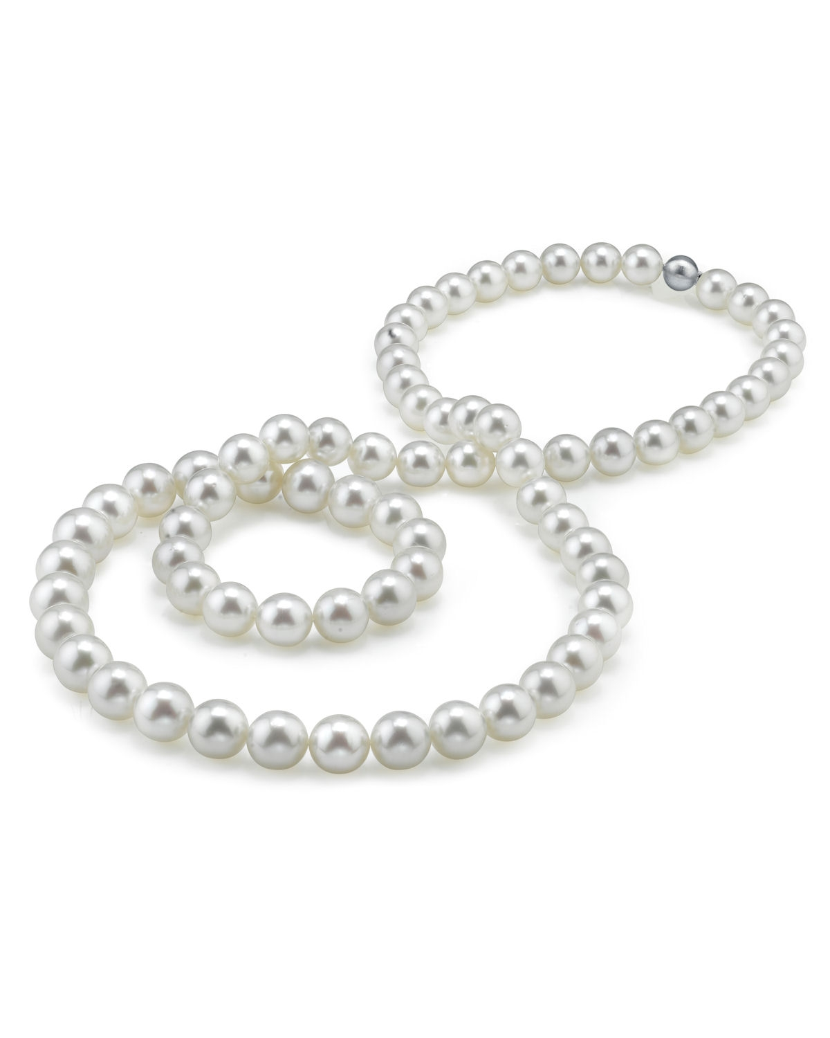 Opera Length 10-12mm South Sea Pearl Necklace-AAAA Quality