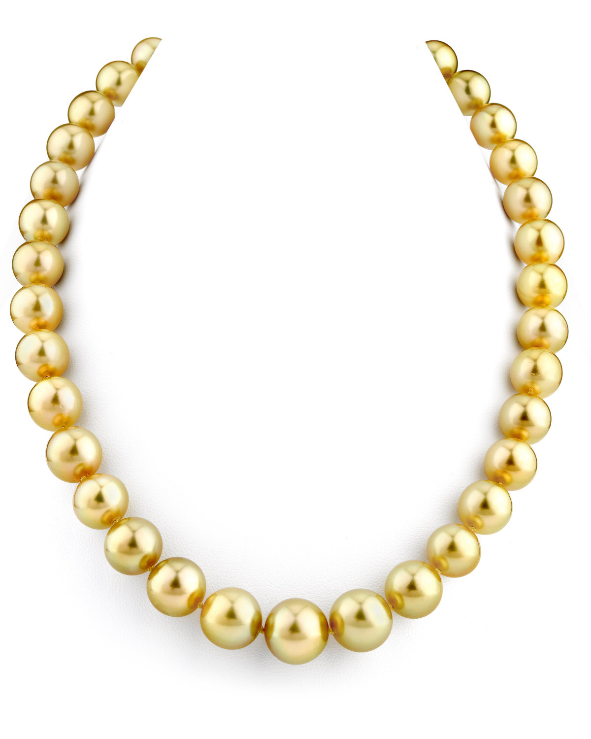 Buy 11 13mm Golden South Sea Pearl Necklace For 6 999