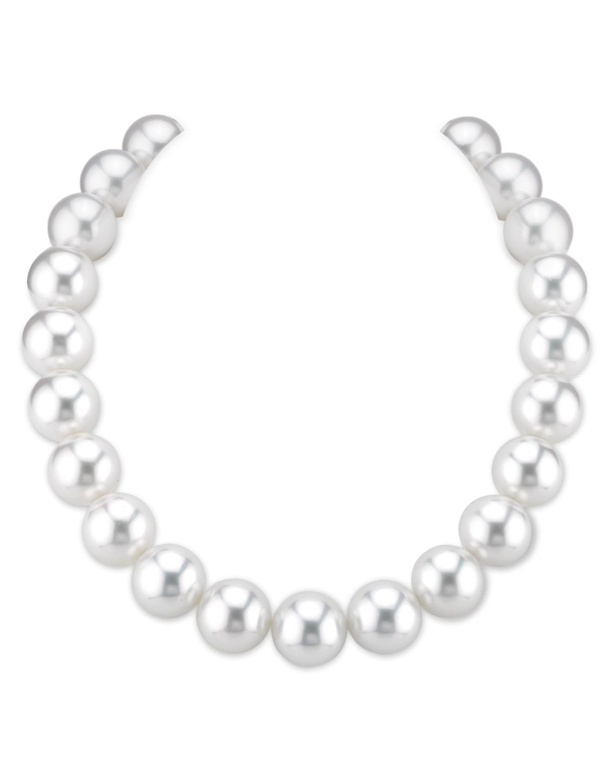 RARE 16-17mm White South Sea Pearl Necklace - AAAA Quality