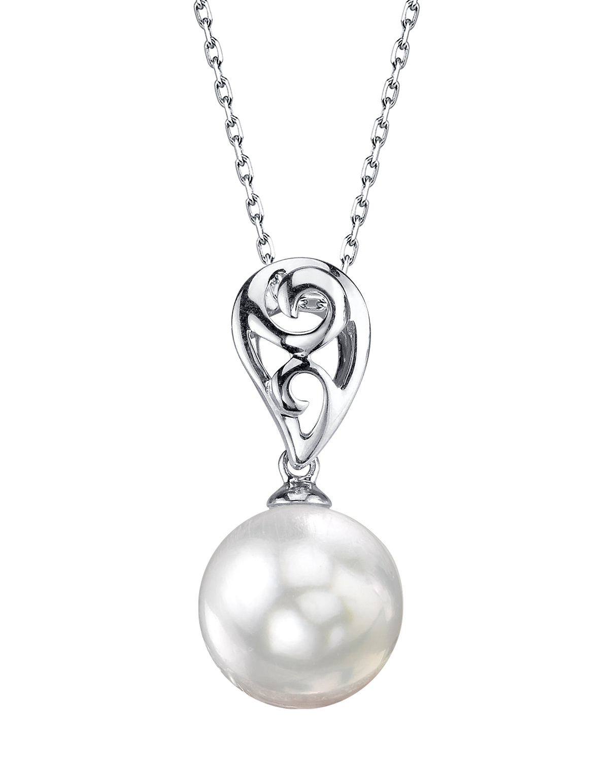 White South Sea Pearl Andrea Pendant