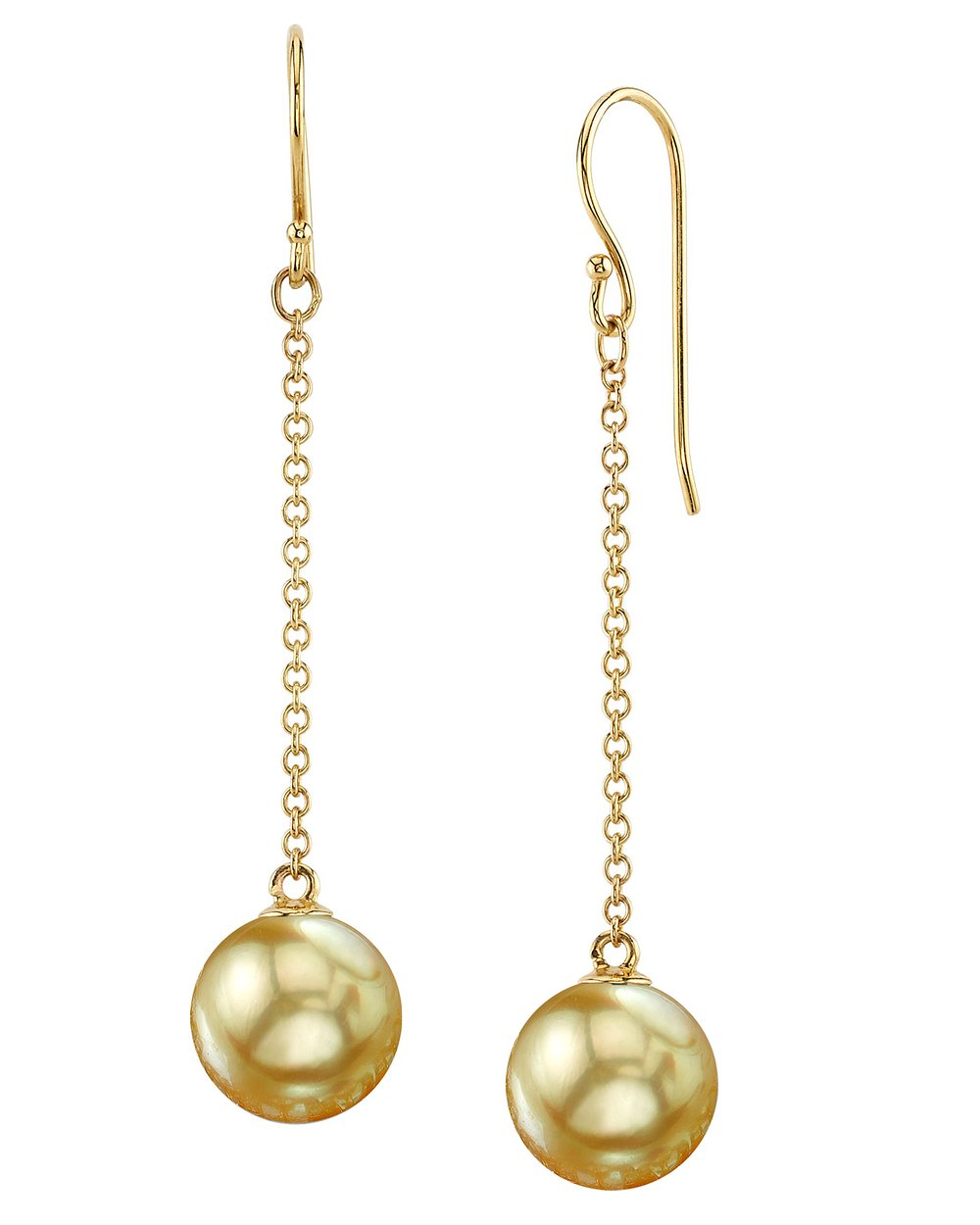 Golden South Sea Pearl Sandra Earrings