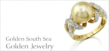 Golden South Sea Pearl Jewelry
