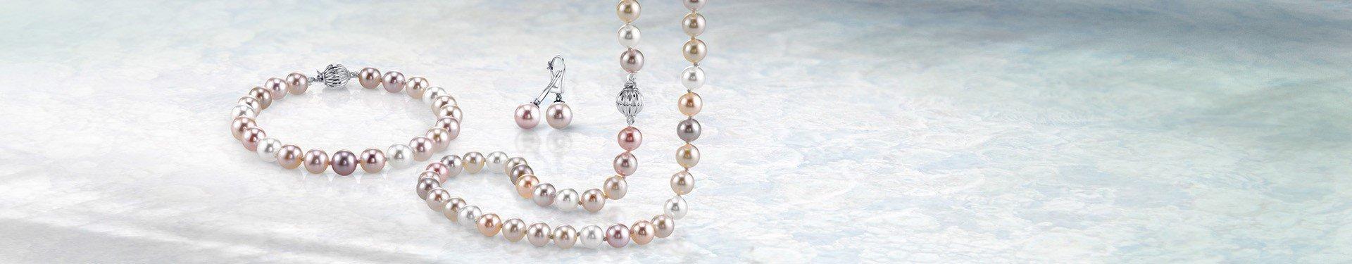 multicolor pearls